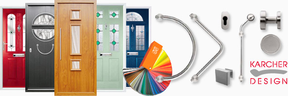 Door Collection and Karcher Door Furniture