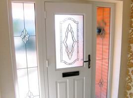 uPVC Door Interior