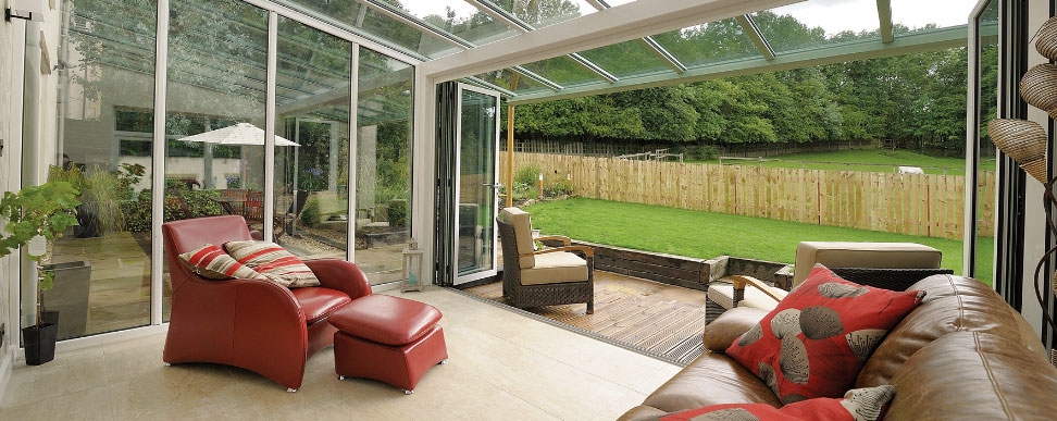 Glass Roof Extension interior